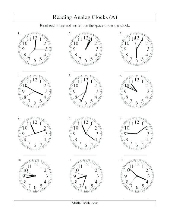 Math Worksheets Grade 3 Clock Time Worksheets Analogue And Digital