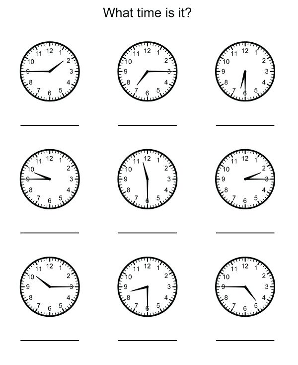 Math Worksheets Grade Telling Time Download Them And Try To Solve