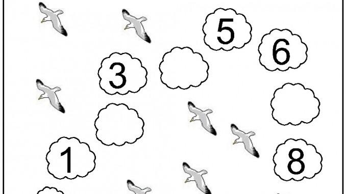 Missing Number Worksheet For Kids(1