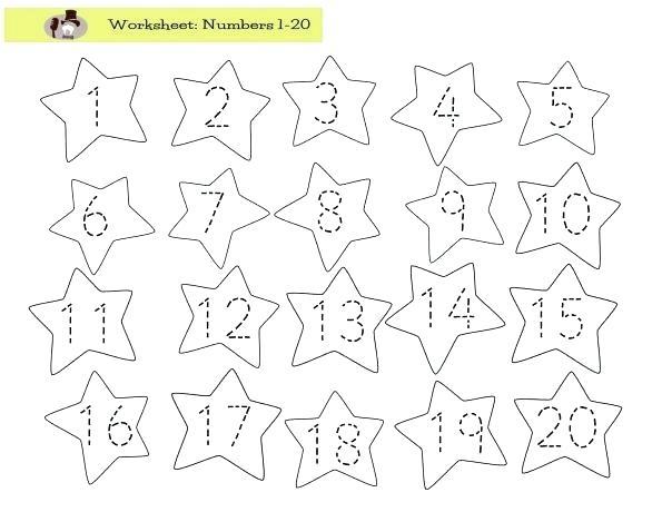 Number Tracing Worksheets 1 Free Printable Pumpkin Number Tracing