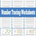 Worksheets Fun Number Tracing