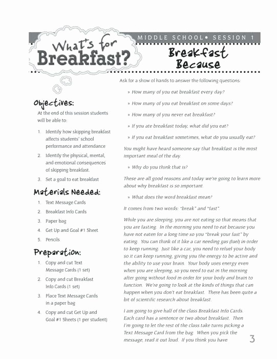 Nutrition Worksheets For Highschool Students Beautiful High School