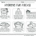 Personal Hygiene Worksheets For Kindergarten