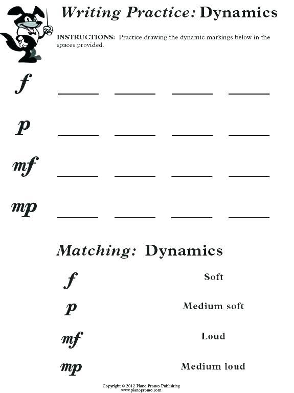 Piano Worksheets Beginners Printable Free Music Theory Beginning M