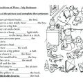 Prepositions Of Place Worksheets Pdf