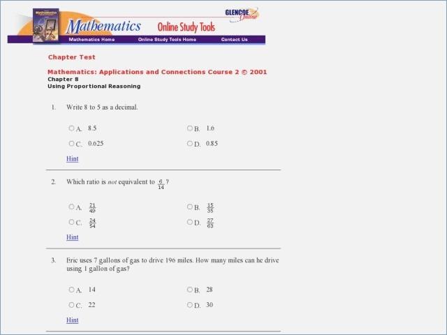 Printable 8th Grade Math Worksheets