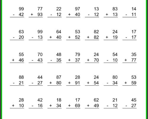 Free Printable Math Worksheets For Kindergarten Preschool Addition