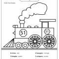 Worksheets On Shapes For Grade 2