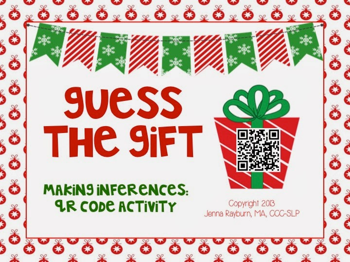 Guess The Gift  Inference Activity