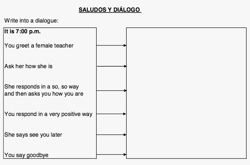 65 New Of Spanish Worksheets Elementary Gallery