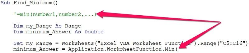 Vba Worksheet Functions  5 Ways To Easily Use Excel Functions In Vba
