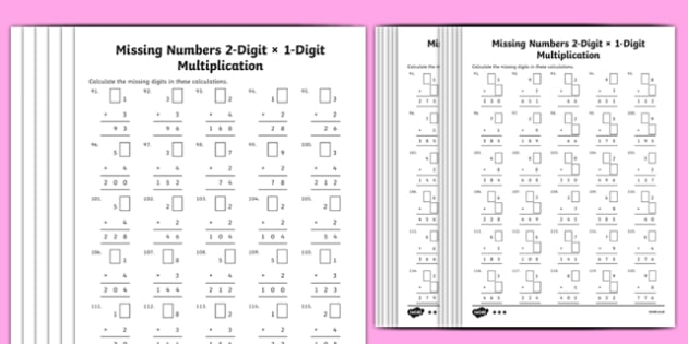 Multiplication 2