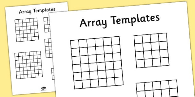 Array Templates