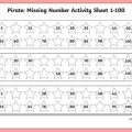 Numbers 1 To 100 Worksheets