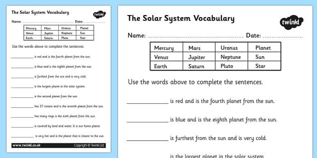 T S Solar Solar System Worksheets Luxury Mean Median Mode