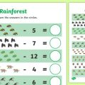 Subtraction Worksheets To 20