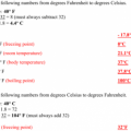 Temperature Conversion Worksheets Answers