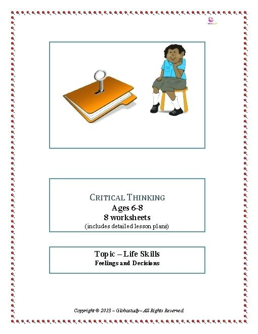 Thinking Worksheets Collection Free Critical Thinking Worksheets