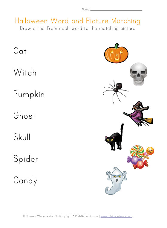 Toddler Halloween Worksheets – Happy Holidays!