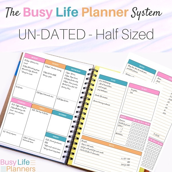 The Busy Life Planner System