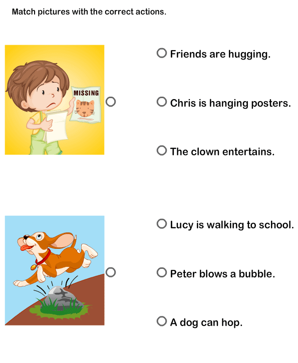 Pictures Worksheets