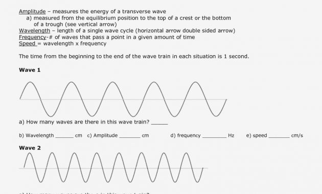 Worksheet Labeling Waves Answer Key Page 14 – Baby Shower Address