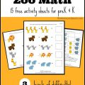 Zoo Worksheets For Kindergarten