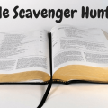 Bible Scavenger Hunt Worksheets