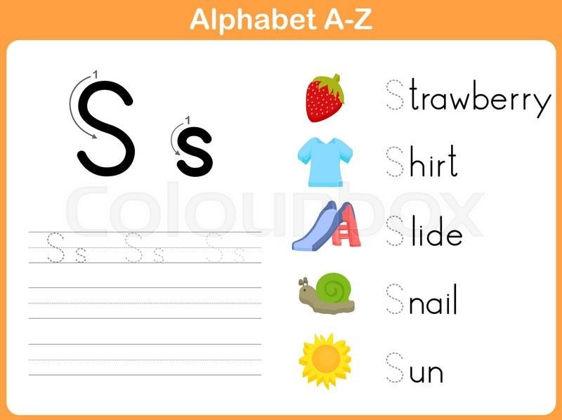 Alphabet Tracing Worksheet  Writing