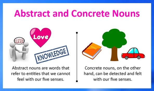 Abstract Nouns And Concrete Nouns