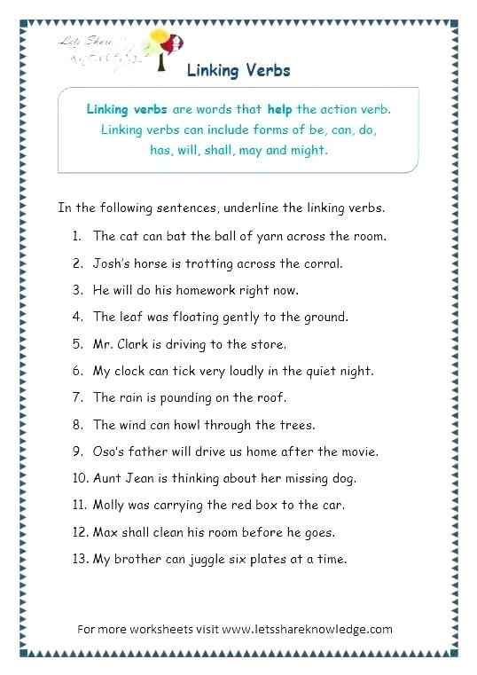 Auxiliary Verb Worksheets Helping Auxiliary Verb Worksheets Pdf