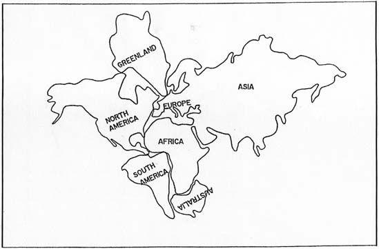 Pangea Map Puzzle Worksheet