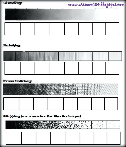 Drawing Exercise Worksheets Worksheet Shading Exercises Pencil Pdf