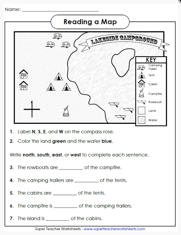 Compass Worksheet