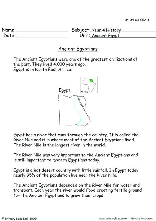 Egypt Worksheets Download The Facts Worksheets Egyptian Lesson Ks1