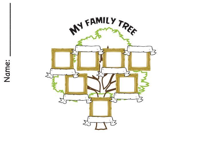 Family Tree Worksheet Printable Luxury Vocabulary Worksheets