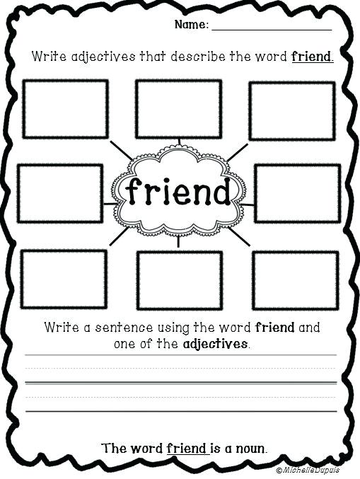 Friendship Worksheets For Kindergarten Inspirational Best Topic
