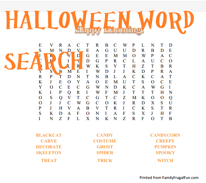 Halloween Worksheet Educational