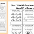 Multiplication Division Worksheets Grade 3