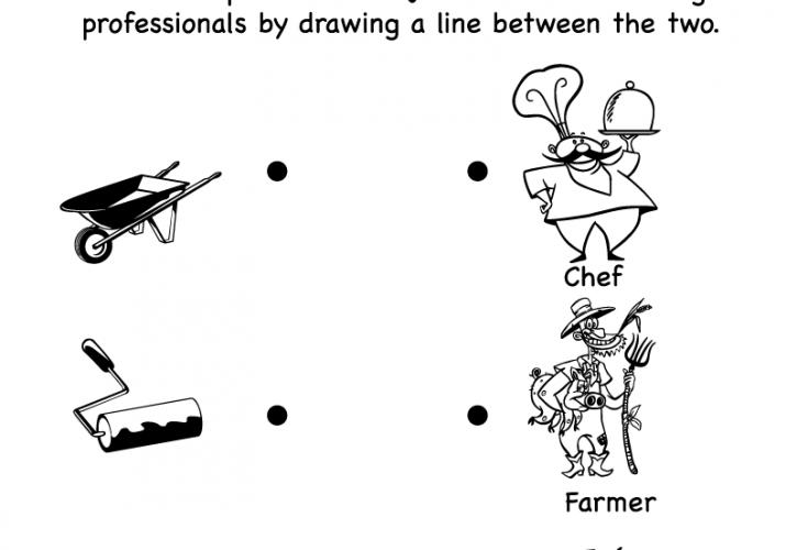 Preschool English Worksheets Cartoon Coloring Pages Free Printable