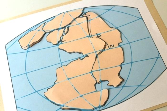 Pangaea Worksheet Piecing Together A Puzzle Pangea Puzzle