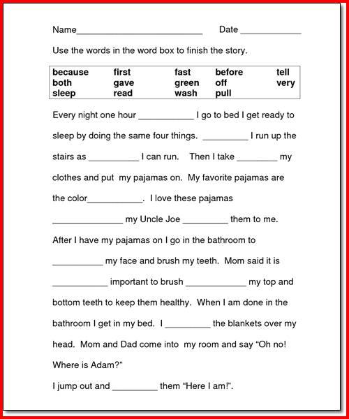 Reading Worksheet 2nd Grade  Reading  Alistairtheoptimist Free