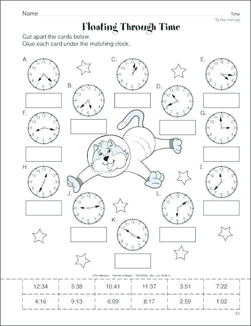 Time Worksheets For 3rd Grade Times Worksheet For Grade 3 Grade