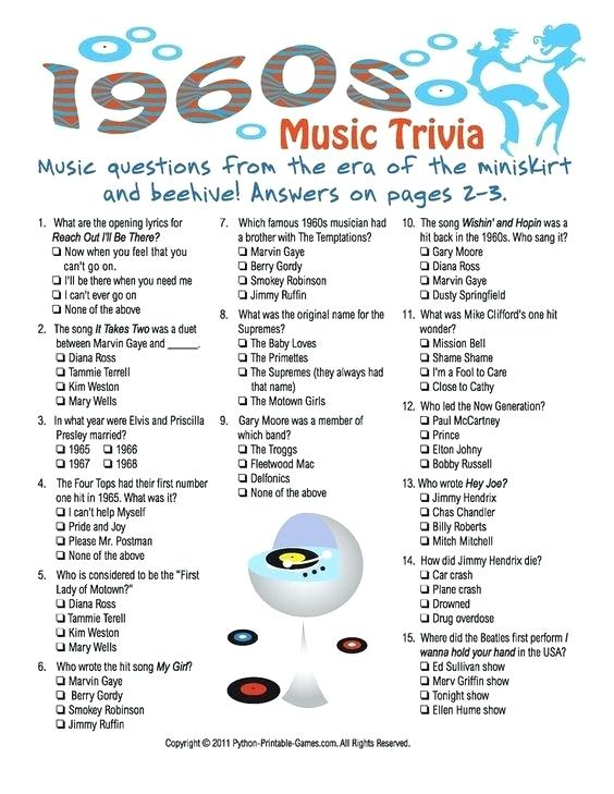 Trivia Questions Printable For High School Students 2017 Game Team