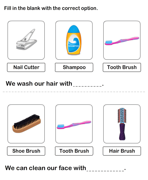 Teach Personal Hygiene To Child