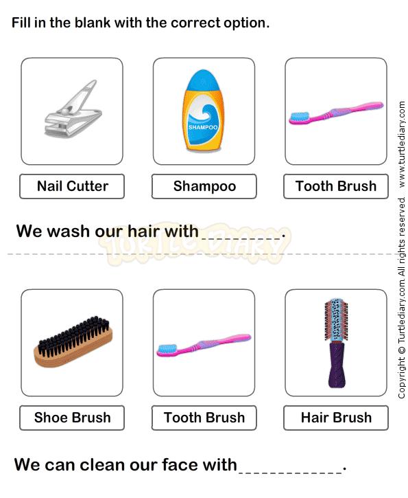 Personal Hygiene Worksheet 15