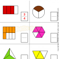Fraction Worksheets Grade 1