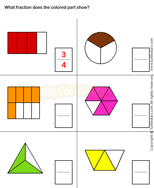 Fractions Worksheet 16