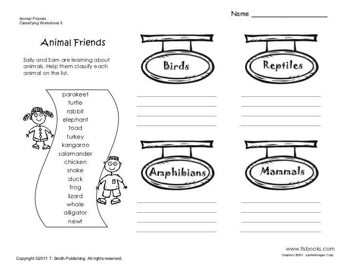 Animals Vertebrates And Invertebrates Worksheets