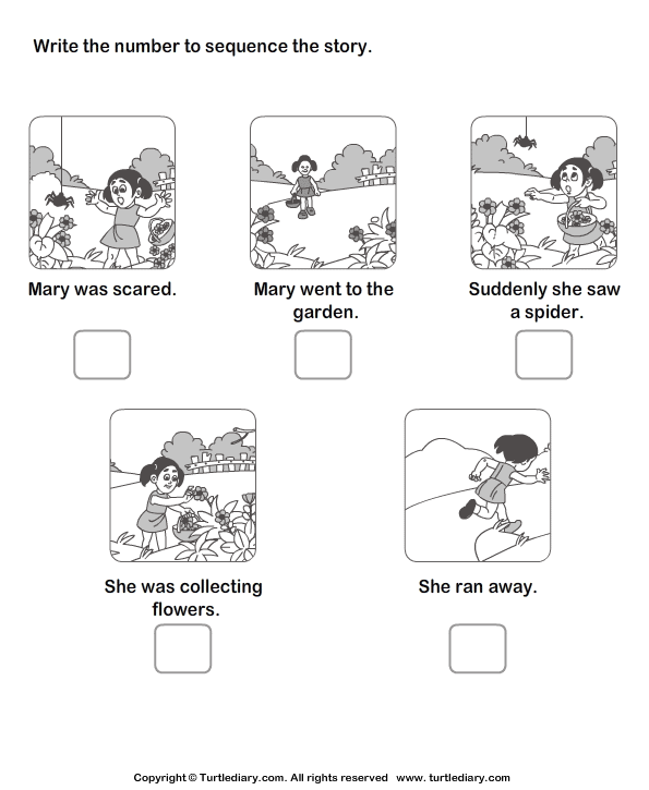 Story Sequencing 3 Worksheet